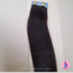 tape in hair natural black